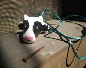 Cow Whistle Necklace