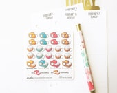CLOSING SALE 40% OFF - 059 planner stickers : laundry (candy series) / clothes / chores