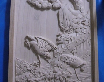 SCENERY--WOOD CARVINGS