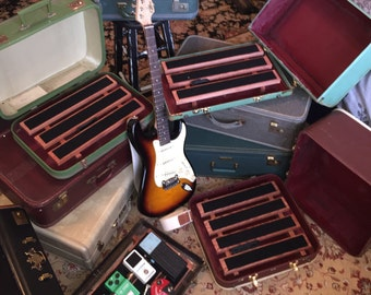 Vintage Suitcase Pedalboards