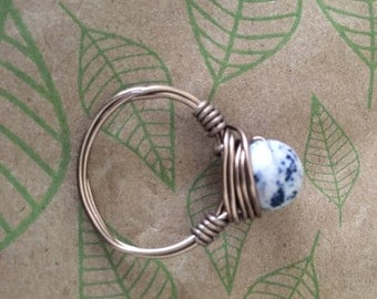 Wire circle ring