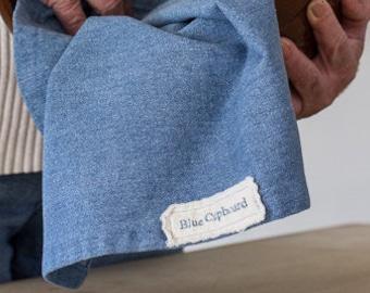 Signature Blue Cupboard Denim Kitchen Towel