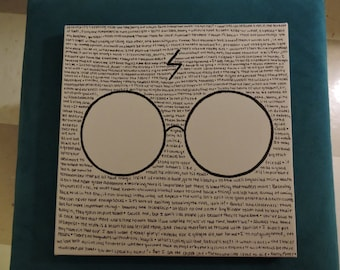 Harry Potter Minimalist Canvas