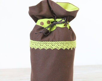 Pompadour pouch Nature