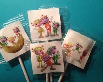 24 Floogals  Lollipop Favors  Floogals Lollipops    Floogals Birthday