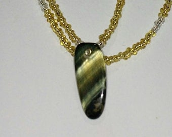 Green and Gold Tigers Eye