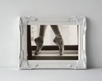 Ballet Photo Print - Ballet Photography - Pointe Shoes - Ballet Gift - Ballerina