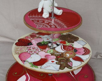 Valentines Cookie/Cupcake Holder E-Pattern