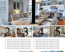 6 Photo Real Estate Flyer Template