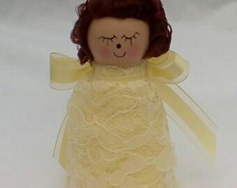 Christmas,Guardian Angel Peg Doll