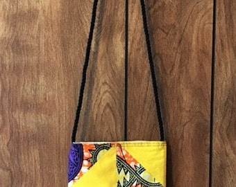 African Wax Print Purse-Supports Orphans!