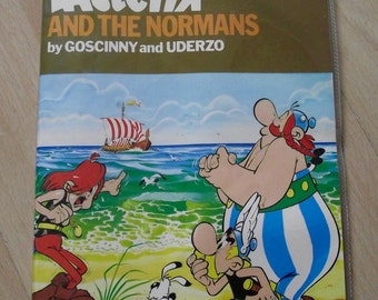 Asterix and The Normans by Goscinny & Oderzo 1982 vintage comic