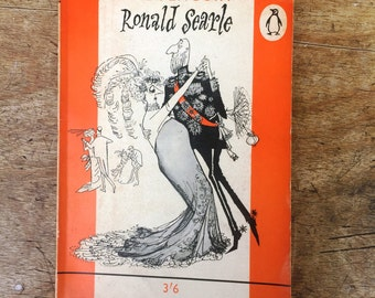 The Penguin Ronald Searle - 1960 first edition- Vintage Penguin paperback
