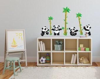 Panda - Vinyl Wall Sticker Decal