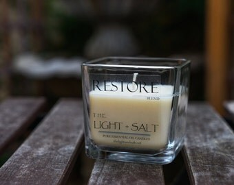 Restore - Pure Essential Oil Soy candle