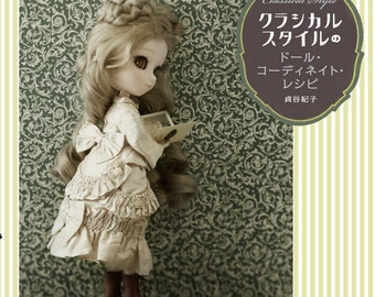 Dolly Dolly Classical Style Doll Coordinate Recipe Book Japanese Making Costumes Doll Classic style