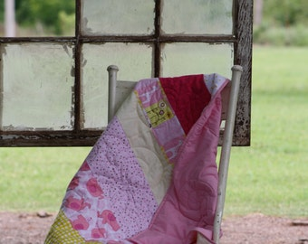 Girly Pink with Animal Quilt
