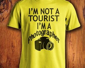 Men's Photographer Tshirt, photography tshirt, i'm a photographer, traveler shirt, wanderlust, gift for him, christmas gift stocking stuffer