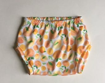 Peaches Bummie- Baby Bummie/Toddler Bummie/Diaper Cover/Bloomers/Baby Shower gift