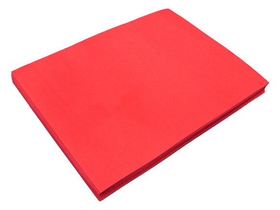 Red craft foam sheets 9 x 12 multiple pack sizes for Red craft foam sheets