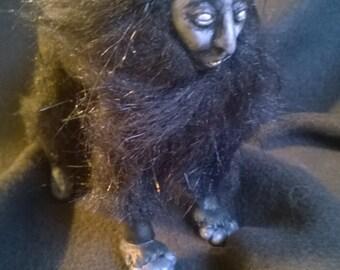 Art doll: Black Sphinx