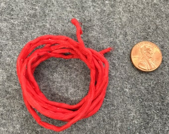 Hand-Dyed Silk 2mm Cord #8