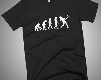 Softball Baseball Evolution T-Shirt Fastpitch