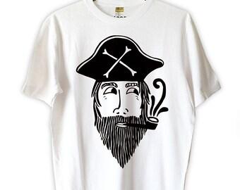 Pete the Pirate Hemp/Cotton Tee