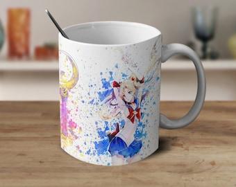 Sailor Moon Mug, Usagi Tsukino Sailor Moon Anime,Anime,Sailor Moon Gifts, Sailor Moon Anime Coffee Mug, Anime