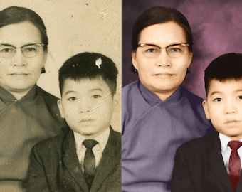 Realistic Photo Colouring, bring life to your black and white memories