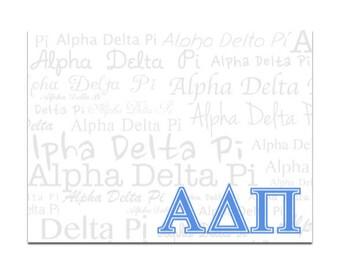 Alpha Delta Pi Sticky Notes