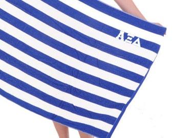 Alpha Xi Delta Towel Stripes