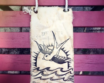 Handmade Sparrow Banner