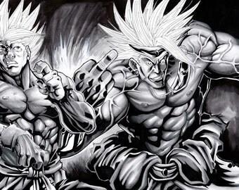 Goku Vs. Broly 1