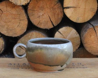 Mug—Wood Soda Fired #1