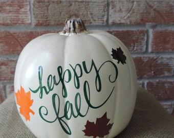 Fall pumpkin decal kits