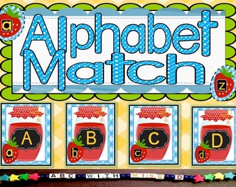 Teacher-created Alphabet Recognition Game for Preschool and Kindergarten Prep! Printable Learning Activity to Build Reading Skills