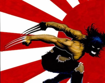 Wolverine Japan Drawing