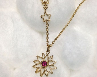 Le baby little Marion Galaxy Silver Pendant