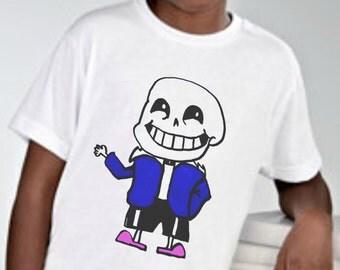 Sans/Undertale Fan Art - Youth Sized T-shirt - Original Wearable Art