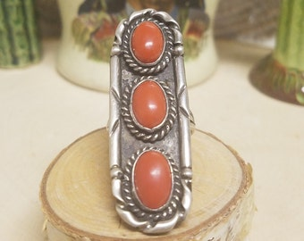 BEAUTIFUL CORAL RING