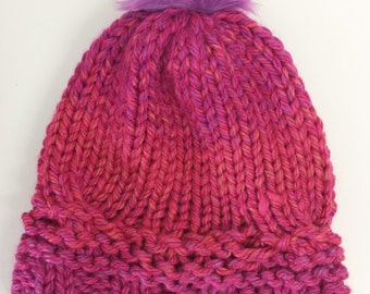 Bright and Bulky Winter Toque