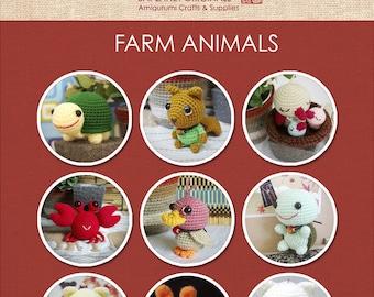 Farm Animals Amigurumi Patterns - 9 Patterns