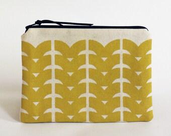 DRIFT pouch in Yellow
