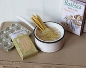 Dolls House Miniature Cooking Pasta