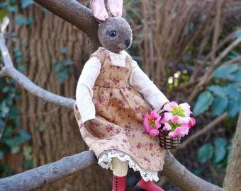 Clara - An Art Doll Bunny