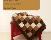 Neutral Squares Blanket Crochet Pattern