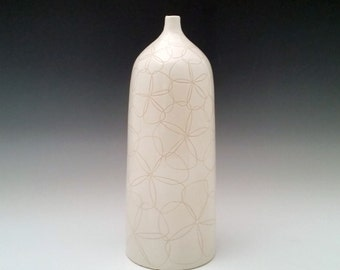 Bottle Vase Ceramic Bud Vase