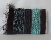 Yarn Scraps Purple Teal Fiber Supplies 1220