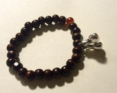 Custom Wrist Mala with Boxing Glove - supports The Muay Thai Project